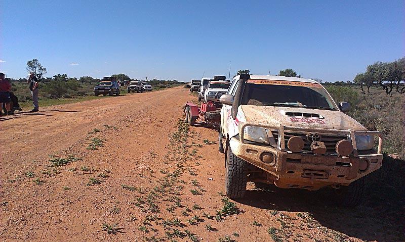 Outback service area