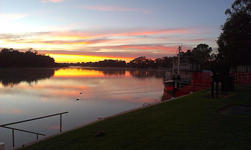 Renmark at Sunrise